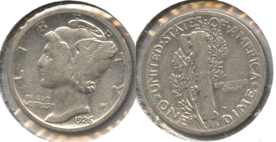 1926 Mercury Dime Good-4