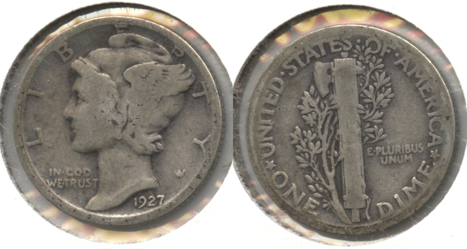 1927 Mercury Dime Good-4 #e