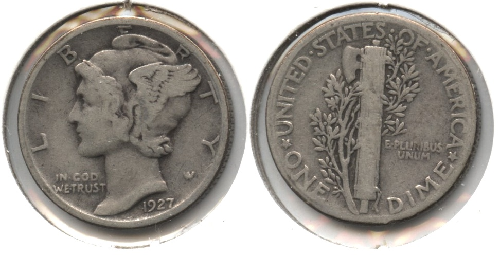 1927 Mercury Dime Good-4 #s