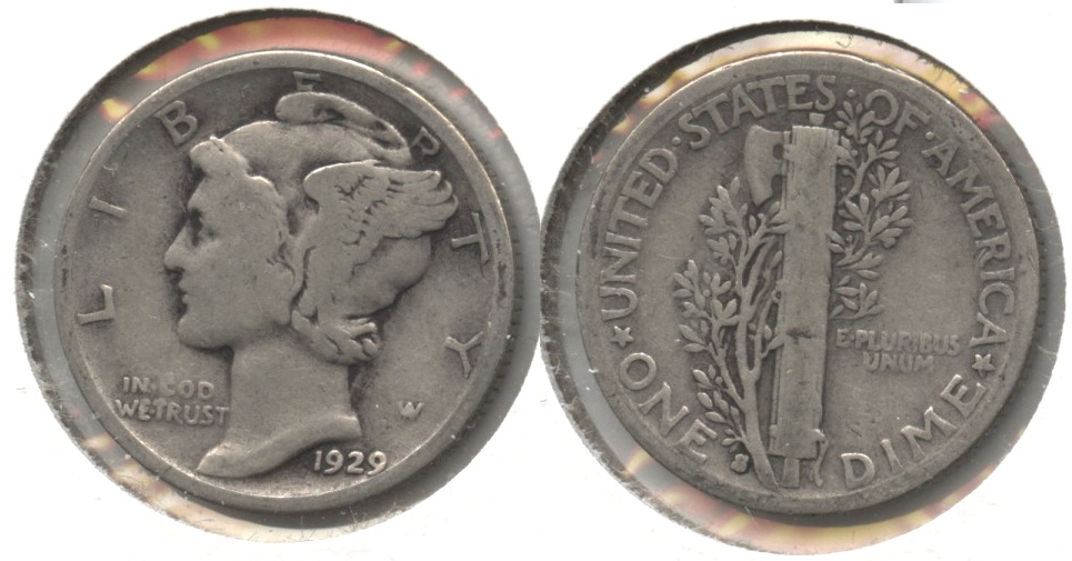1929-S Mercury Dime Good-4 #c