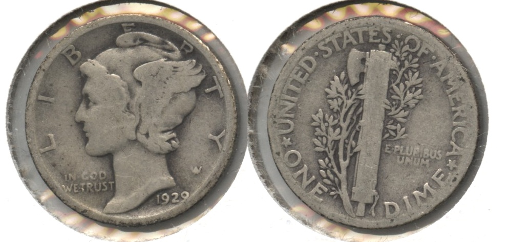 1929 Mercury Dime Good-4 #s