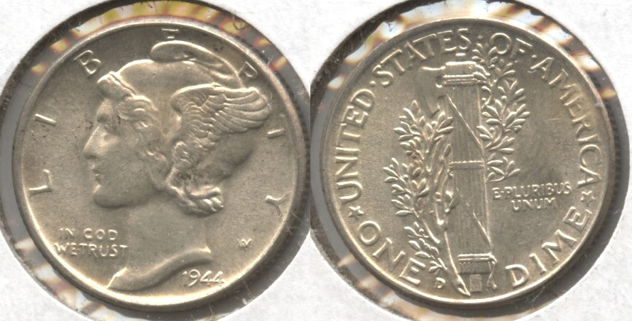 1944-D Mercury Dime MS-60 #s