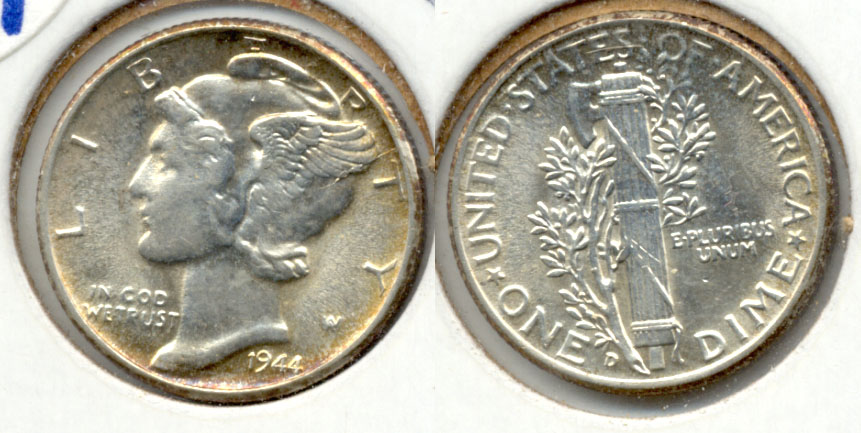 1944-D Mercury Dime MS-63 a