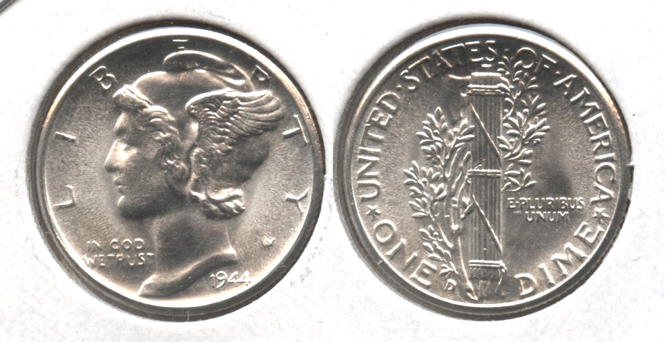 1944-D Mercury Dime MS-64