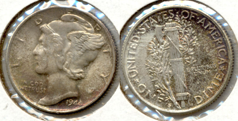 1944-S Mercury Dime MS-64