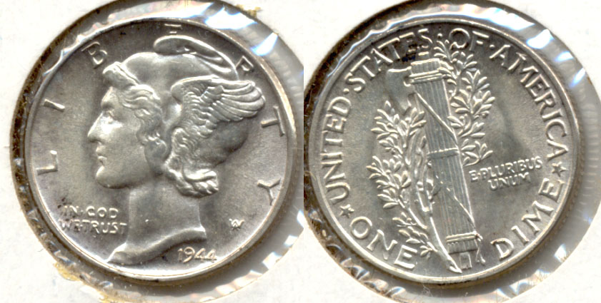1944 Mercury Dime MS-63 p