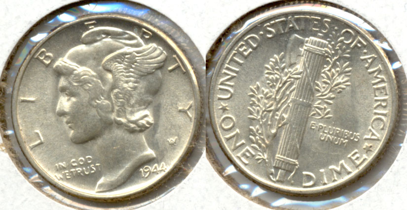 1944 Mercury Dime MS-63 q