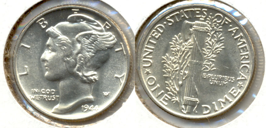 1944 Mercury Dime MS-63 v