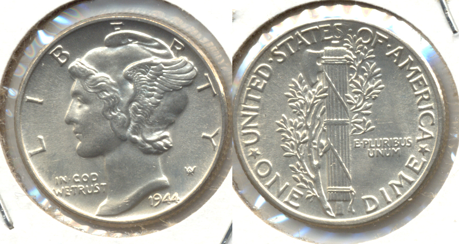 1944 Mercury Dime MS-64