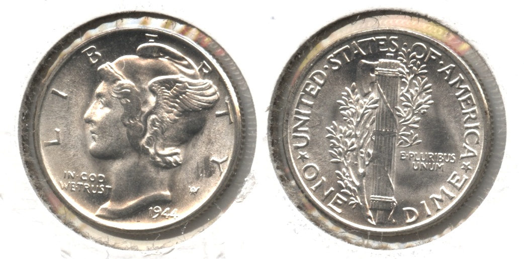 1944 Mercury Dime MS-64 #e