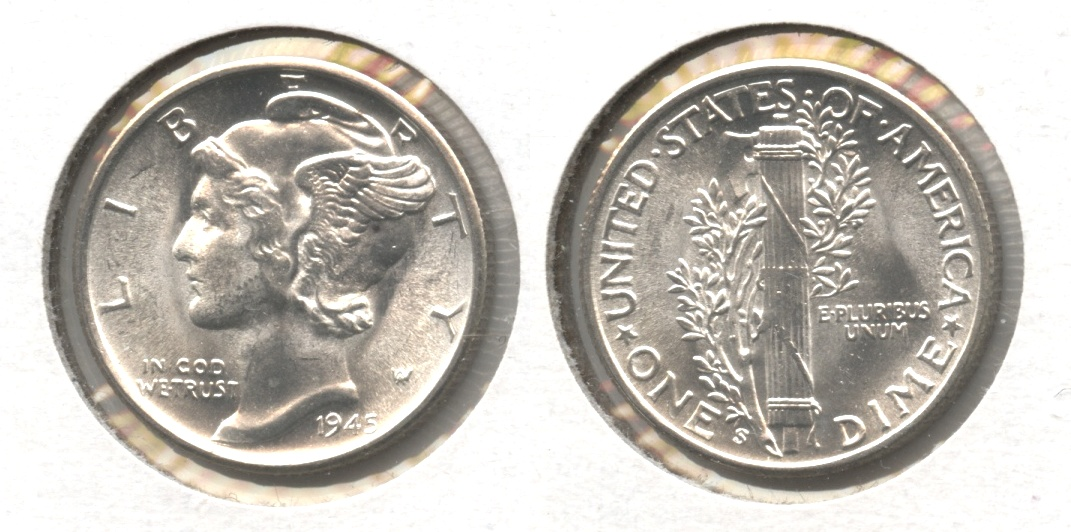 1945-S Mercury Dime MS-63 #ay