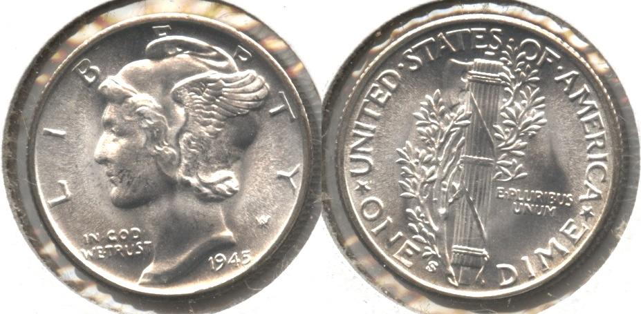 1945-S Mercury Dime MS-63 #l