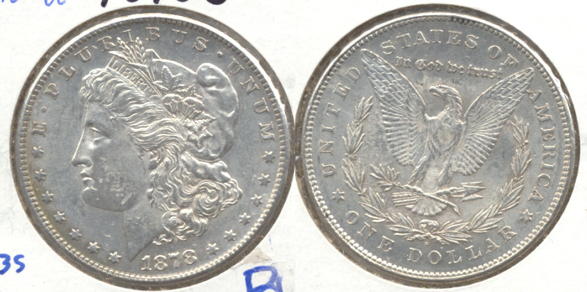 1878-S Morgan Silver Dollar MS-60 g