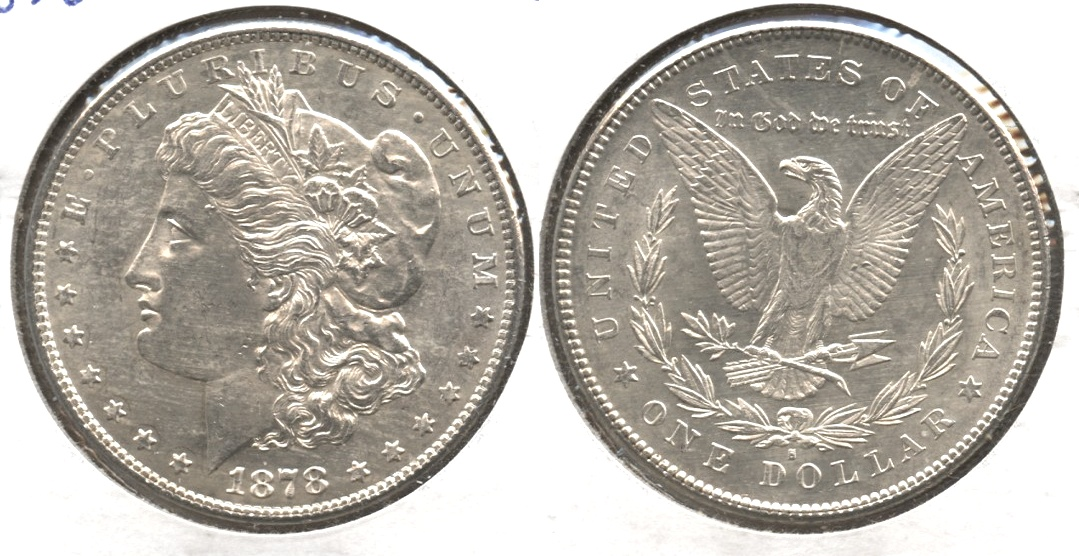 1878-S Morgan Silver Dollar MS-63 #c
