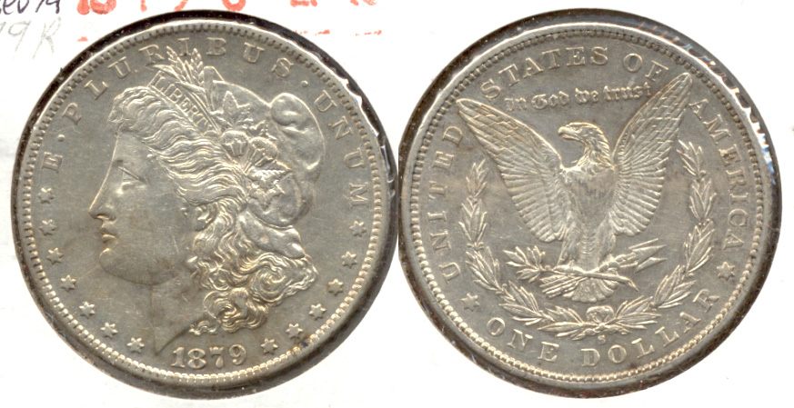 1879-S Morgan Silver Dollar EF-40 c