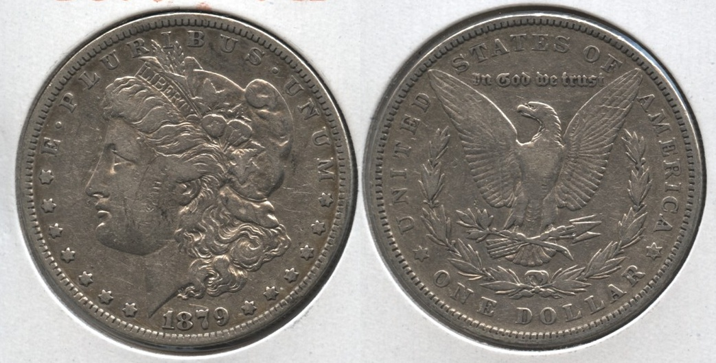 1879 Morgan Silver Dollar Fine-12 c