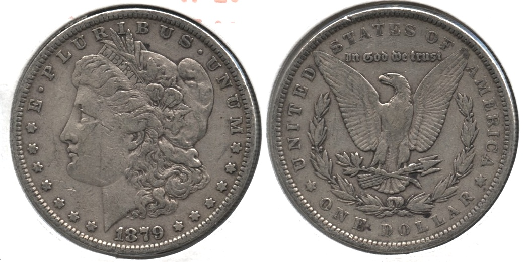 1879 Morgan Silver Dollar VF-20 j