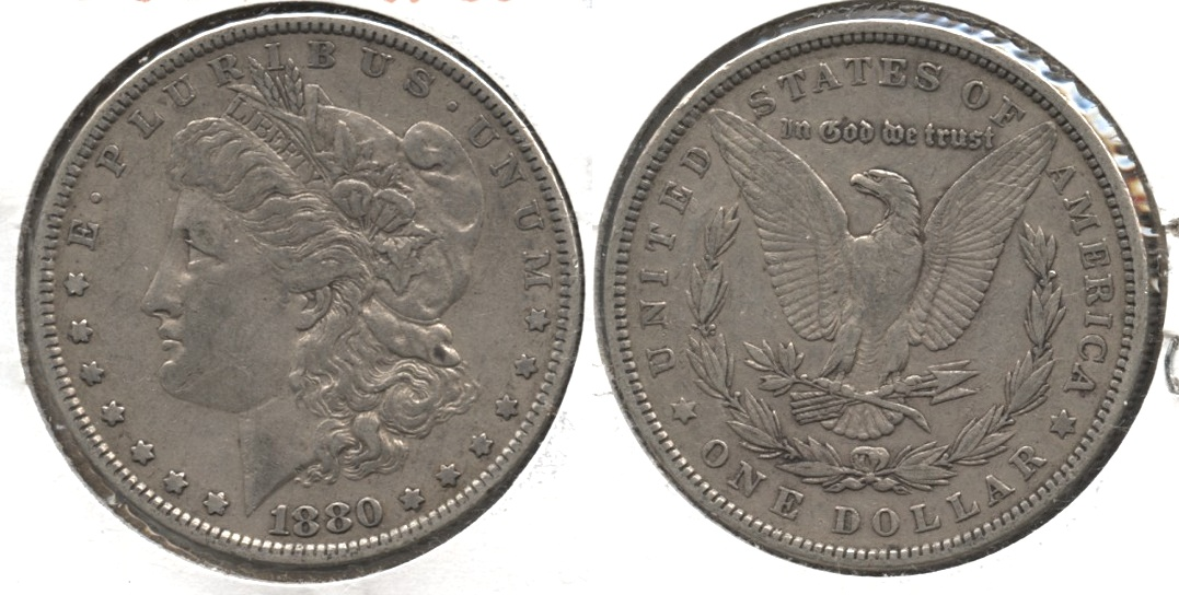1880 Morgan Silver Dollar VF-20 #l