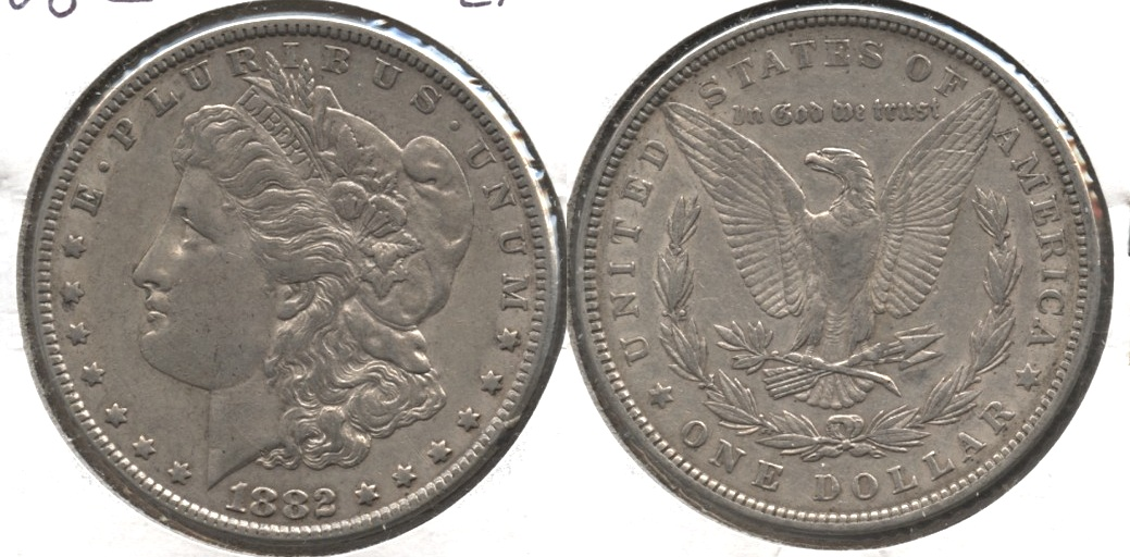 1882 Morgan Silver Dollar EF-40 #g
