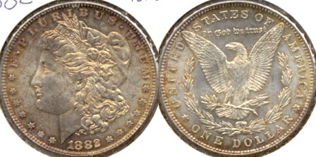 1882 Morgan Silver Dollar MS-63