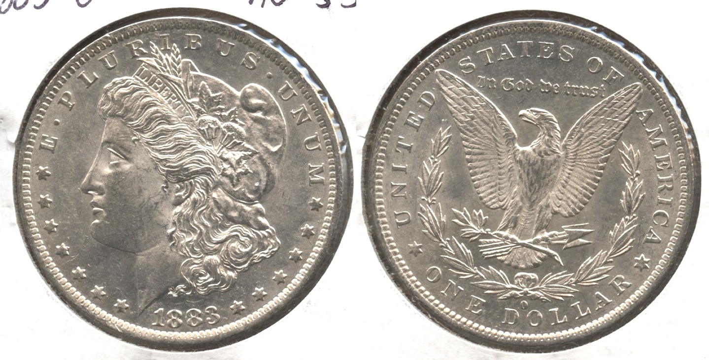 1883-O Morgan Silver Dollar AU-55 #j