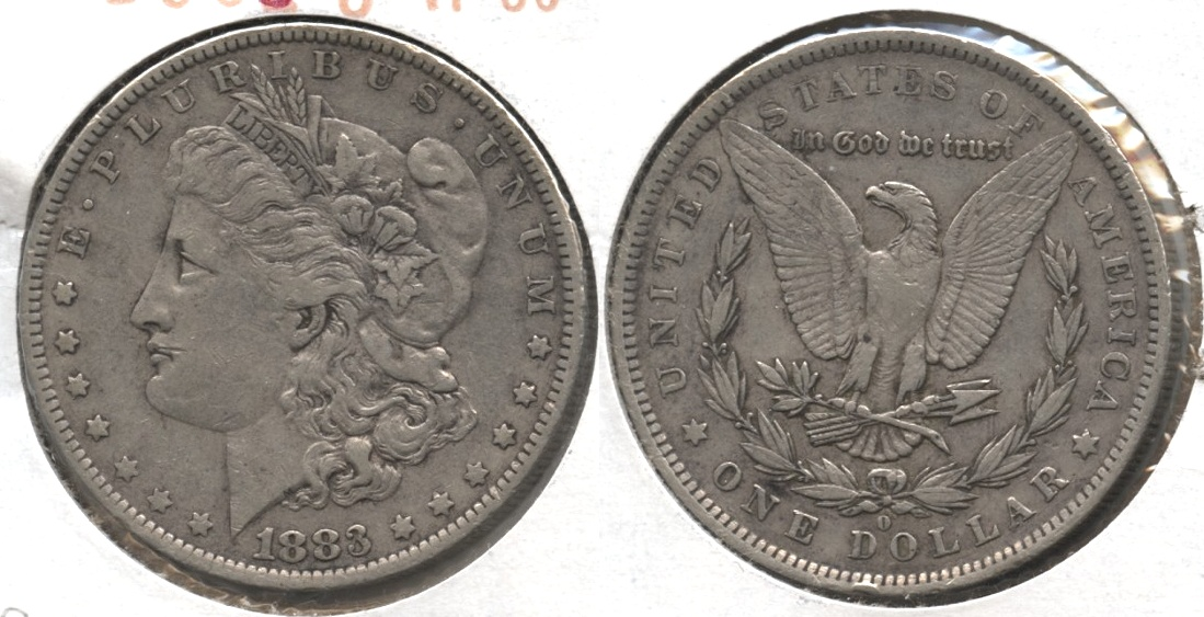 1883-O Morgan Silver Dollar VF-30 #f