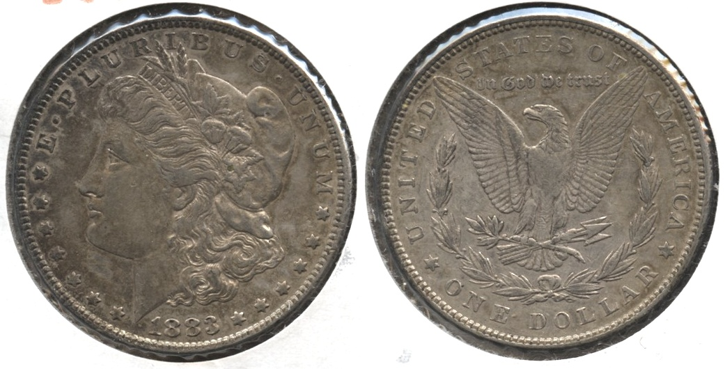 1883 Morgan Silver Dollar EF-40 #i
