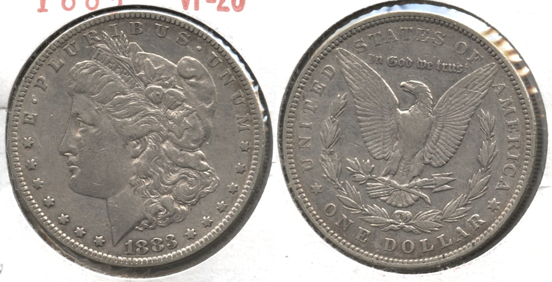 1883 Morgan Silver Dollar VF-20 #i