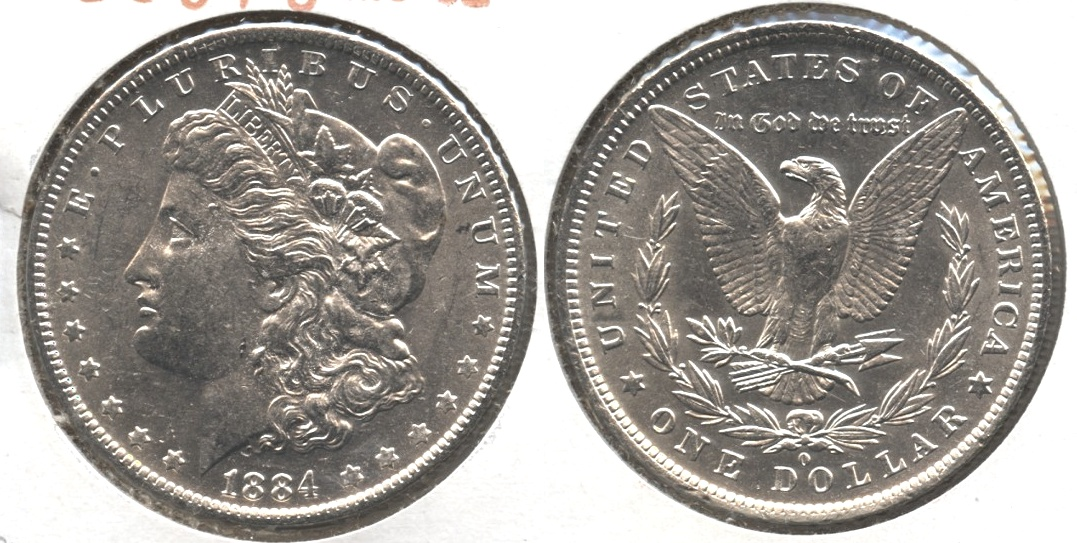 1884-O Morgan Silver Dollar MS-62 #g