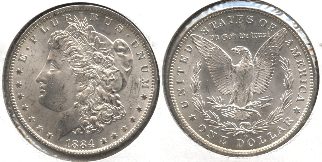 1884-O Morgan Silver Dollar MS-62 #l