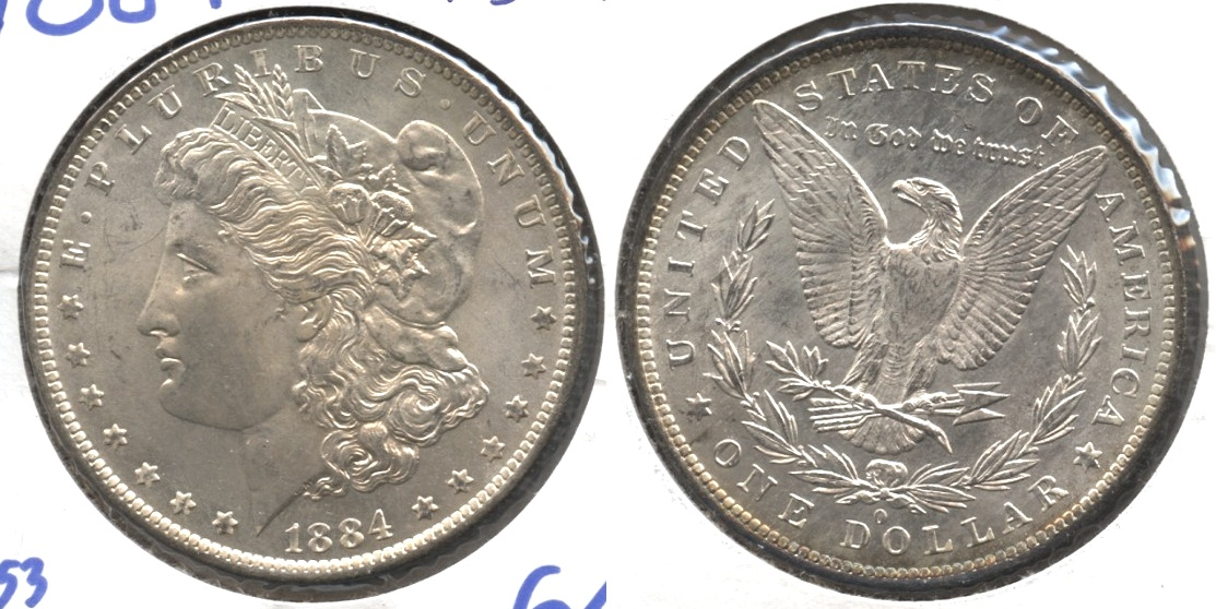 1884-O Morgan Silver Dollar MS-64 #a