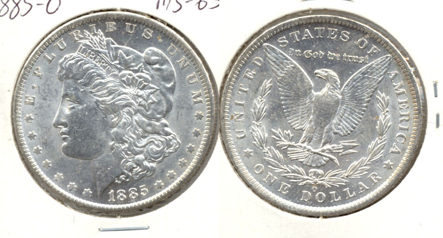 1885-O Morgan Silver Dollar MS-63 i