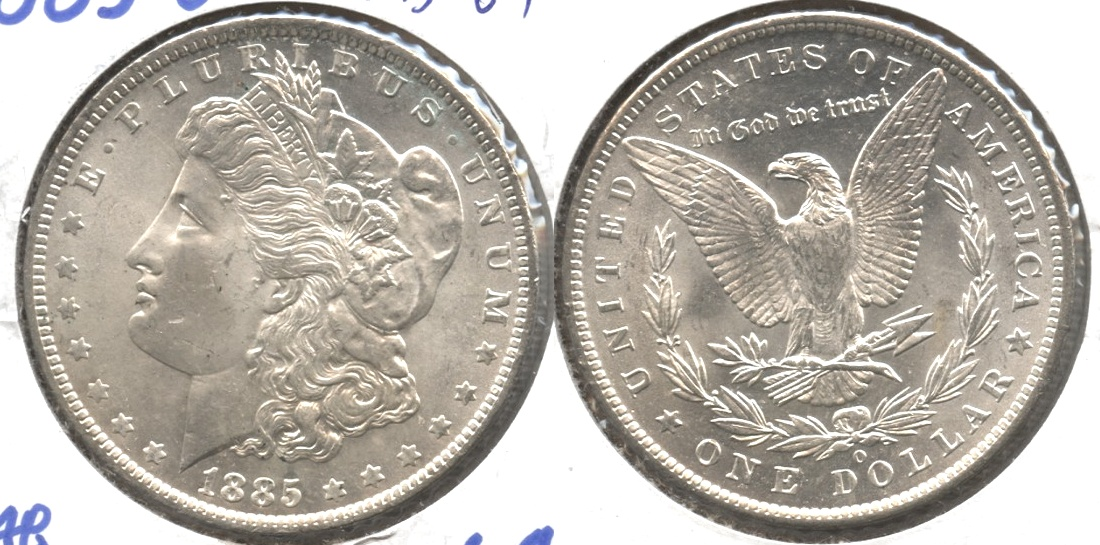 1885-O Morgan Silver Dollar MS-64 #b