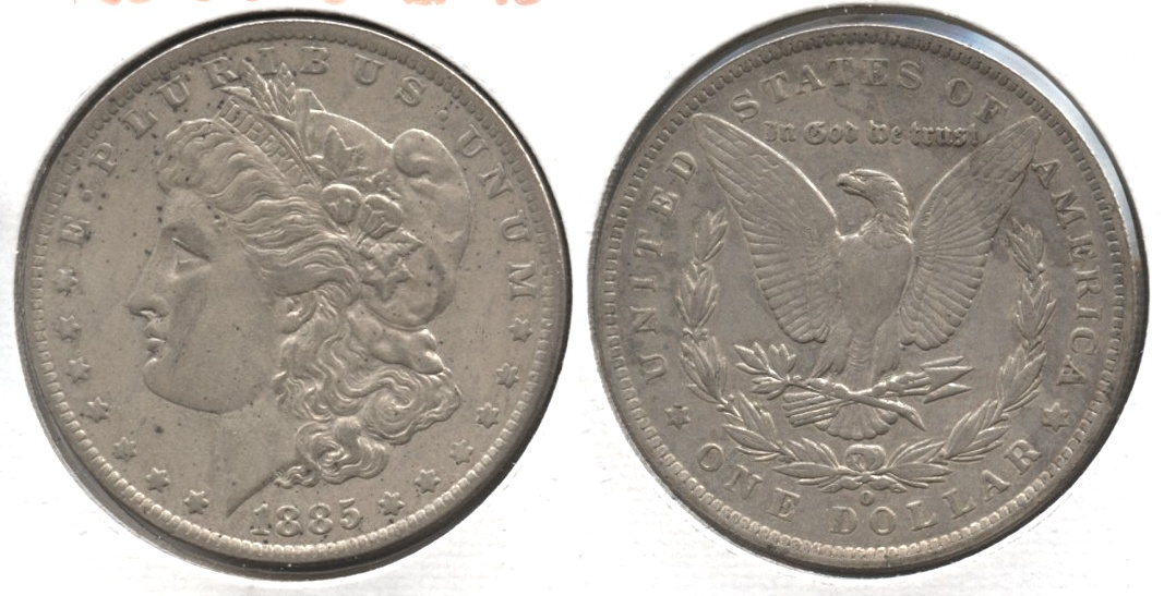 1885-O Morgan Silver Dollar VF-20 #d