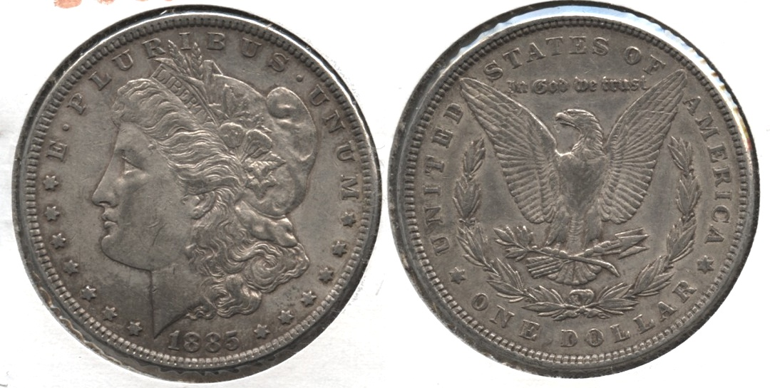 1885 Morgan Silver Dollar EF-40 #r