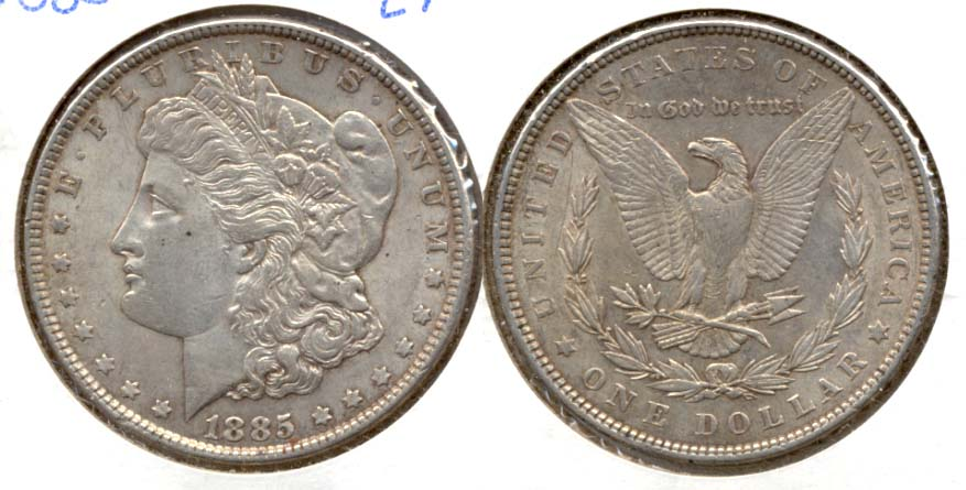 1885 Morgan Silver Dollar EF-45
