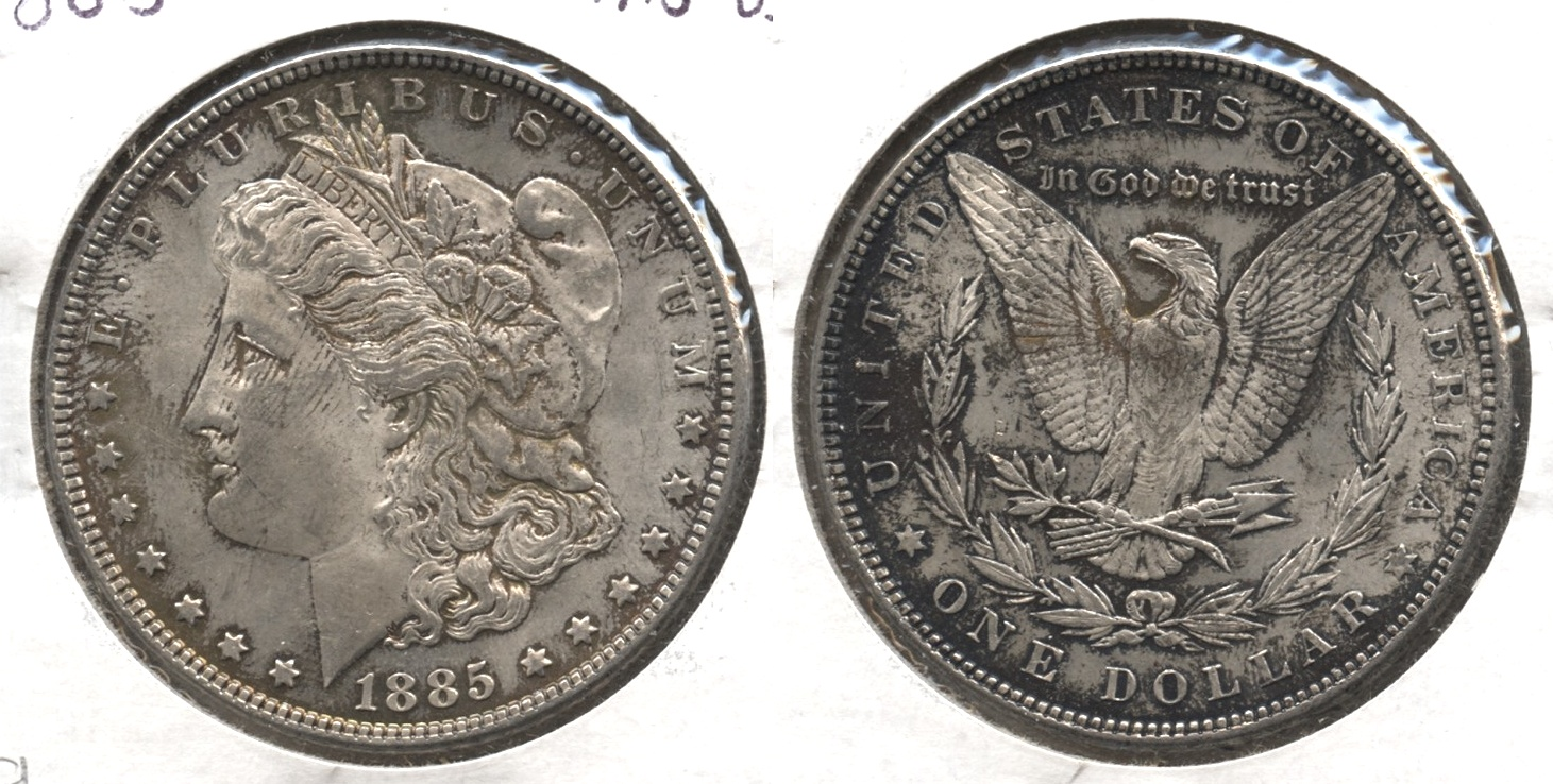 1885 Morgan Silver Dollar MS-63 #g