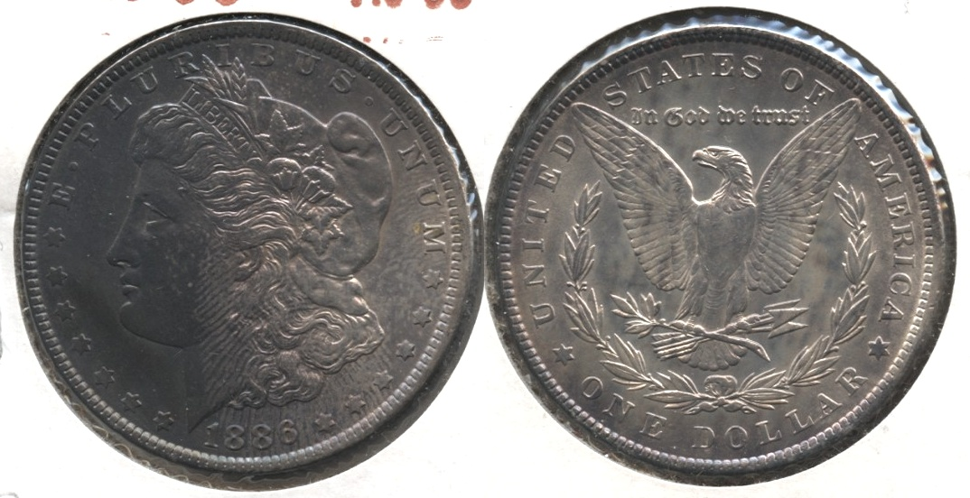 1886 Morgan Silver Dollar AU-50 #z