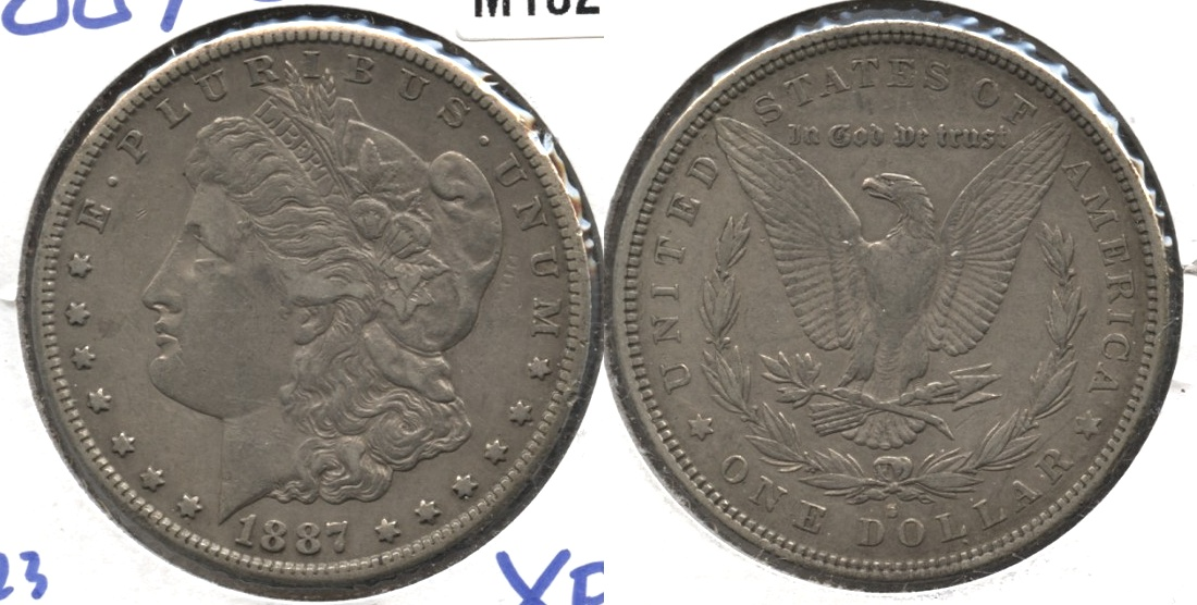 1887-S Morgan Silver Dollar VF-20