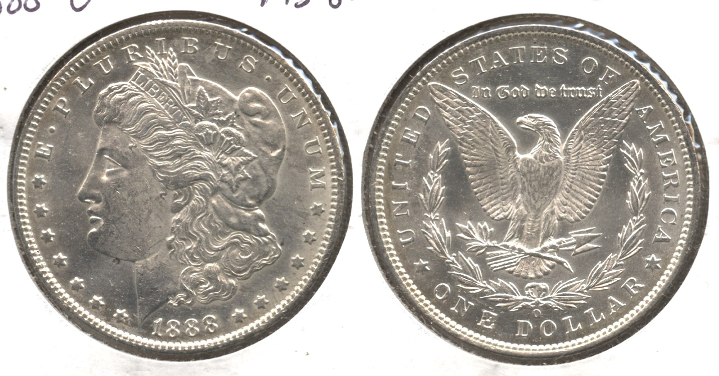 1888-O Morgan Silver Dollar MS-60 #a