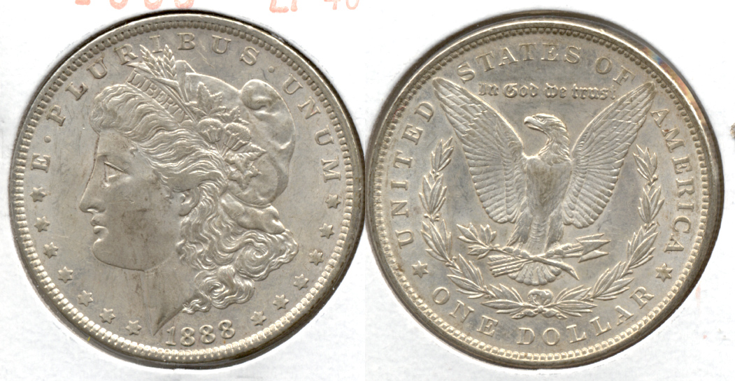 1888 Morgan Silver Dollar EF-40 o