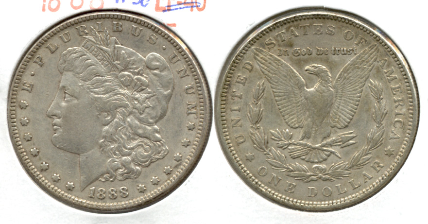 1888 Morgan Silver Dollar VF-30