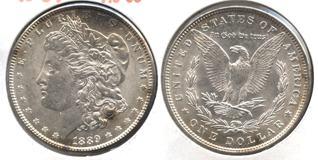 1889 Morgan Silver Dollar AU-55 #n