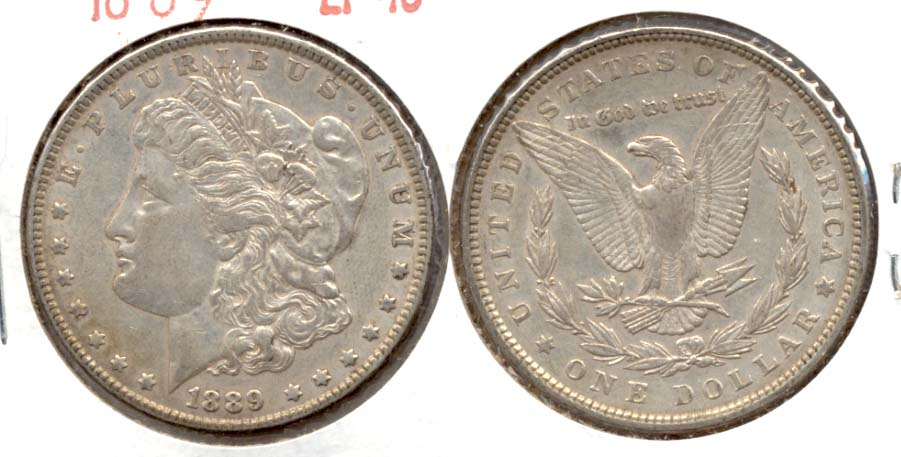 1889 Morgan Silver Dollar EF-40 s