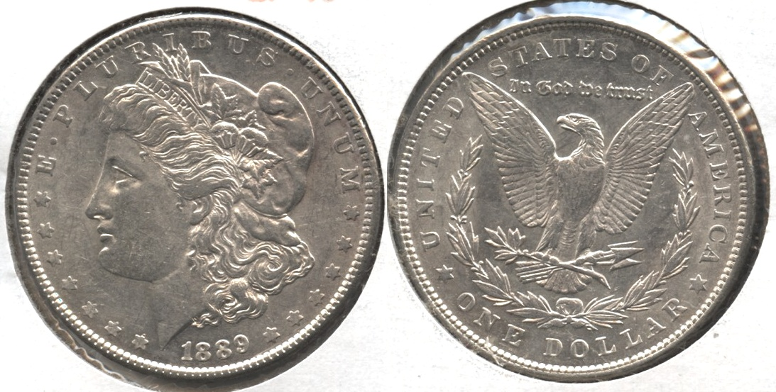 1889 Morgan Silver Dollar EF-45 #ai