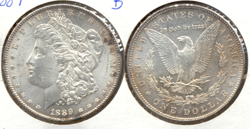 1889 Morgan Silver Dollar MS-60