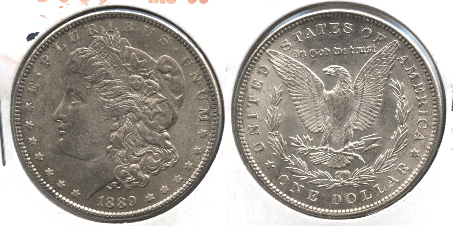 1889 Morgan Silver Dollar MS-63 #g