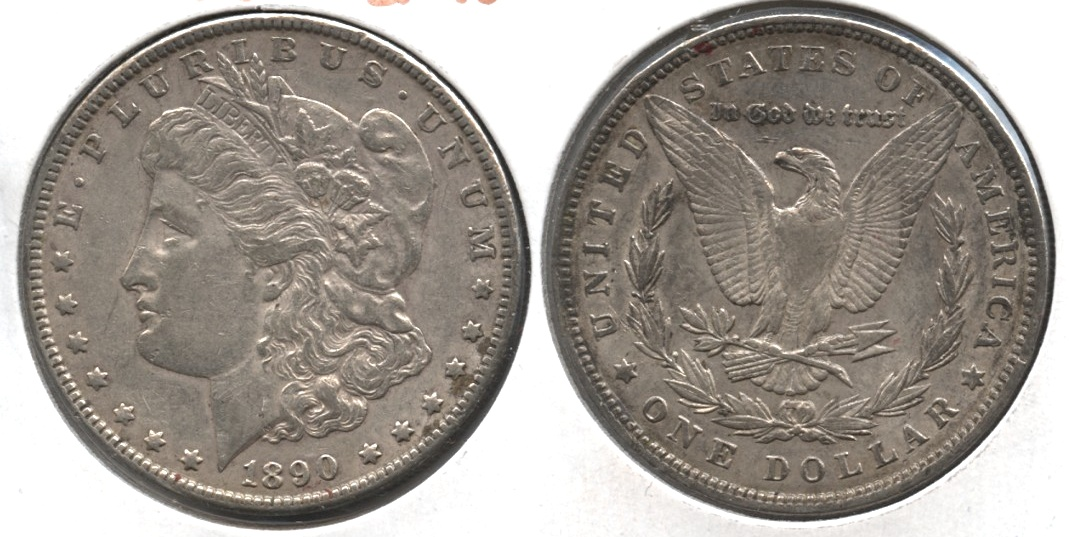 1890 Morgan Silver Dollar EF-40 #x