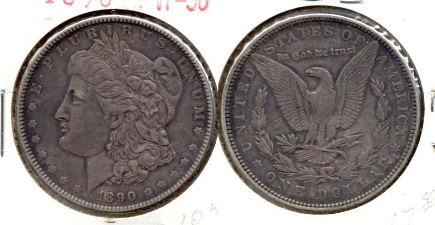 1890 Morgan Silver Dollar VF-30