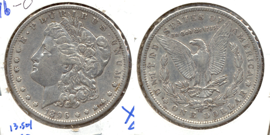 1896-O Morgan Silver Dollar EF-40
